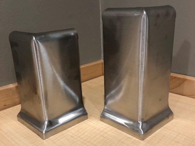stainless steel fabrication - century corners