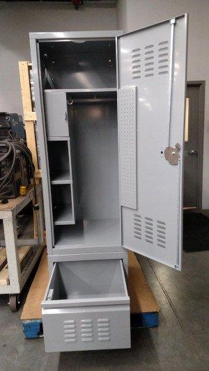 Sheet Metal Fabrication - Storage Locker Complete