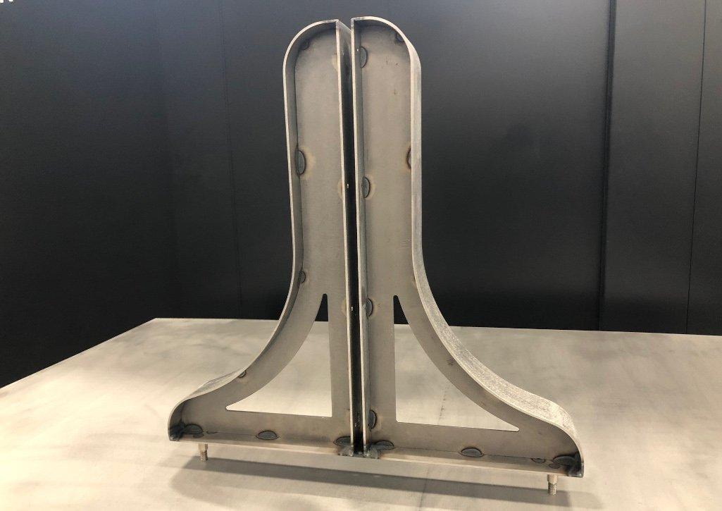 Fabrication Production for Mobile Marker Bracket Board Feet