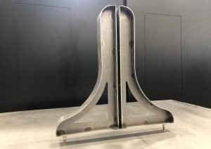 Metal Fabrication production for marker board feet